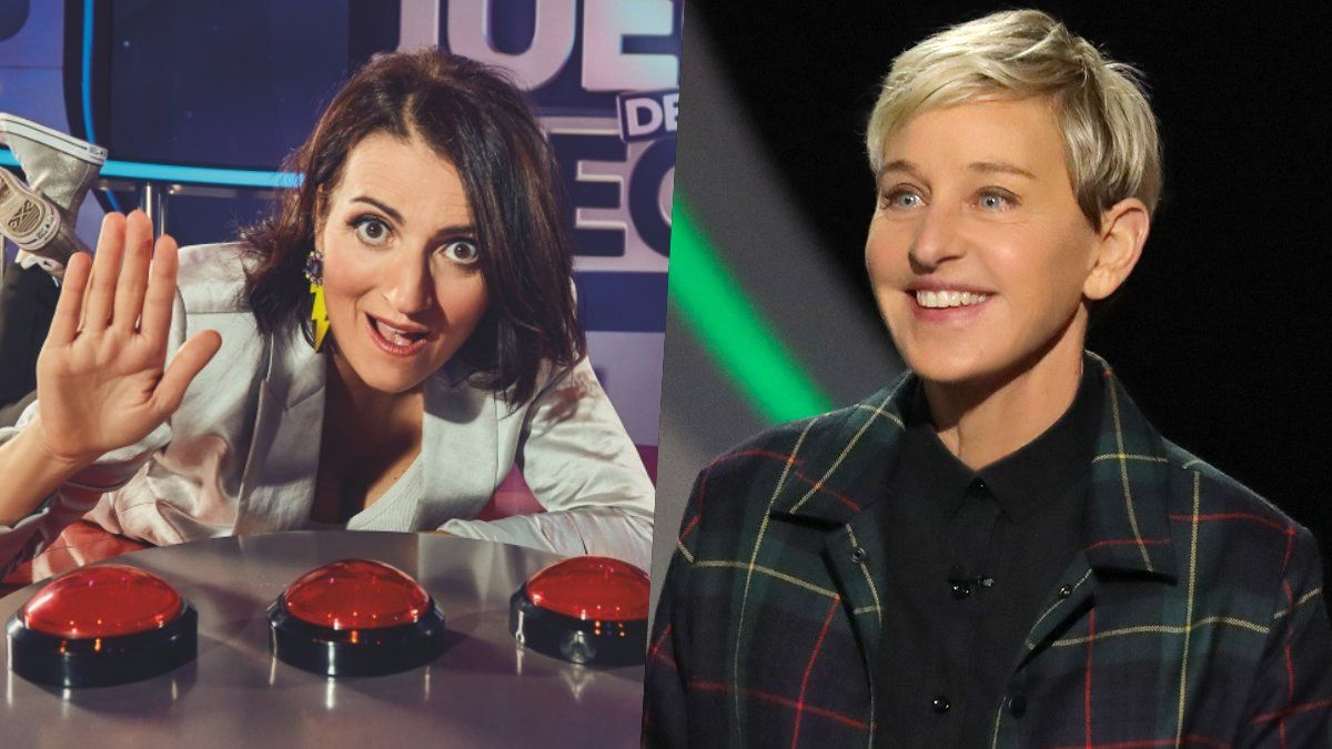 Silvia Abril y Ellen DeGeneres.