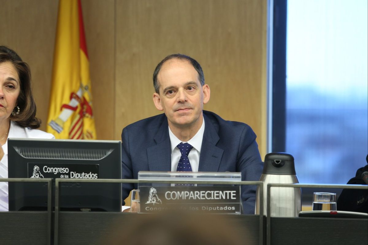 Comparecencia deManuel Morocho (UDEF)en la comisión de investigación de lapresunta financiacion ilegal del PP.