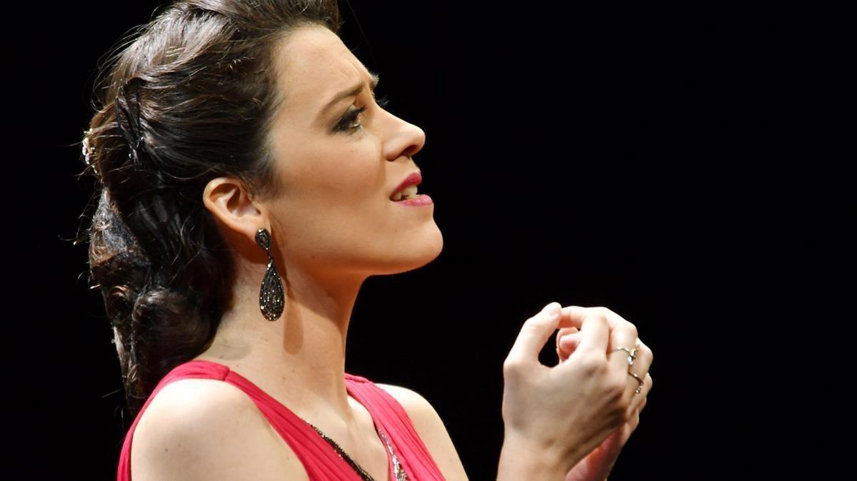 Leonor Bonilla, segundo premio del 55Concurs Internacional de Cant Tenor Viñas.