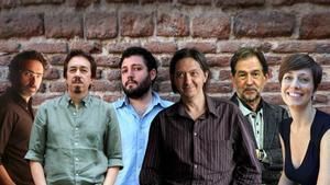 Jon Bilbao, Pedro Mairal, Munir Hachemi, Santiago Lorenzo, Suso de Toro y Marta Carnicero.
