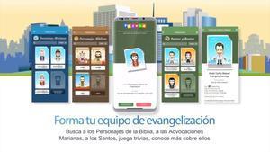 Imagen promocional de la aplicación para teléfonos móviles del videojuego'Follow JC Go!'.