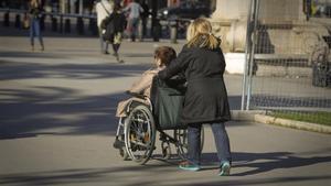 La Generalitat promet 6 milions més per atendre la discapacitat