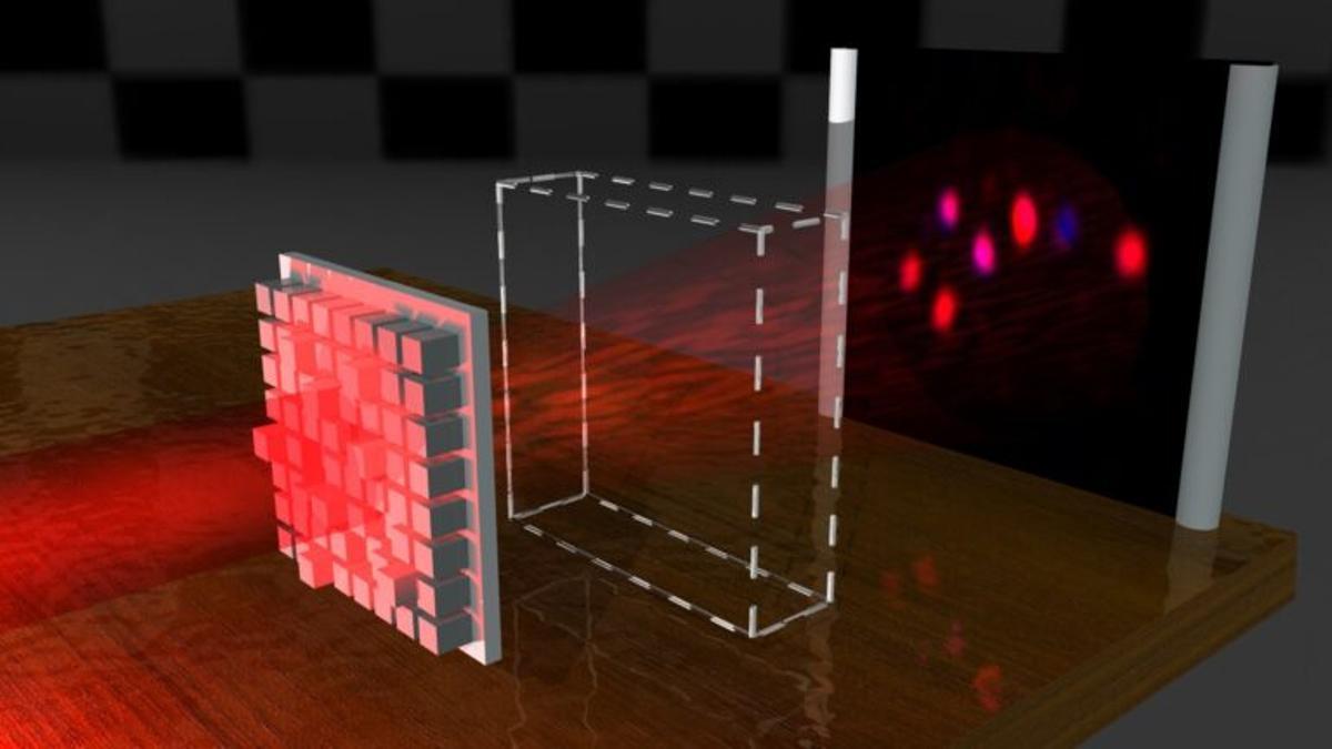 Consiguen la invisibilidad de objetos moldeando la luz