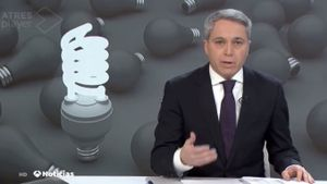 Vicente Vallés en 'Antena 3 Noticias'
