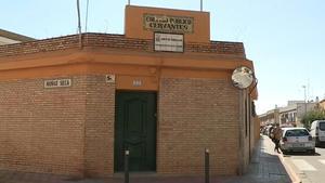 Imágenes del CEIP Cervantes de Dos Hermanas (Sevilla) donde estudiaba la niña con autismo.