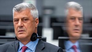 L'expresident kosovar Hashim Thaçi es declara no culpable de crims de guerra