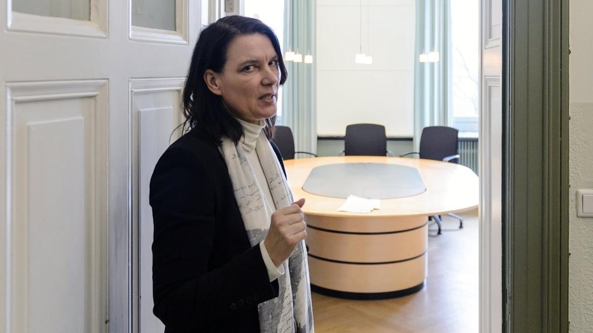 La primera fiscal de Schleswig, Wiebke Hoffelner.