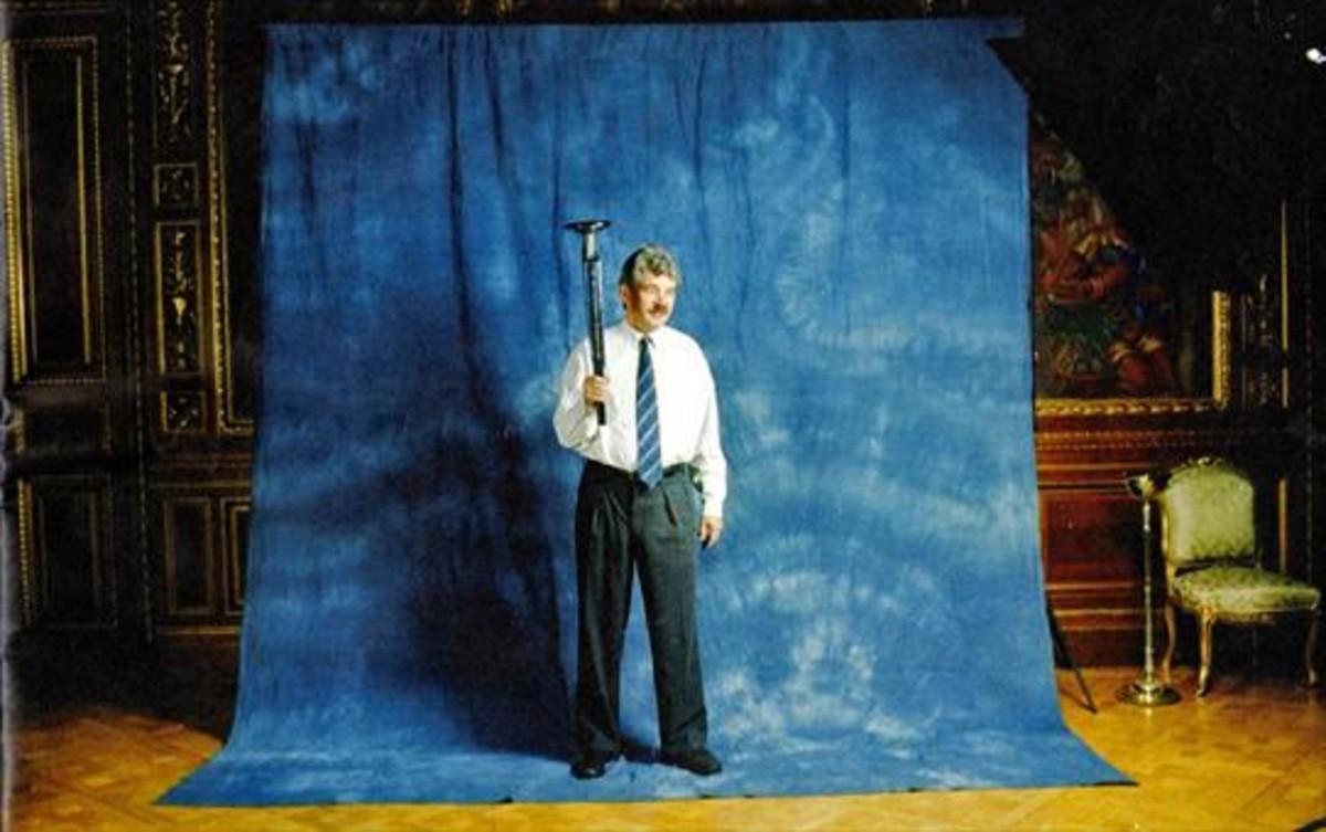 Pasqual Maragall, cuatro días antes de la inauguración de los JJOO de 1992.