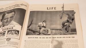 La foto de Robert Capa 'Muerte de un miliciano', protagonista de una exposición en el IVAM.