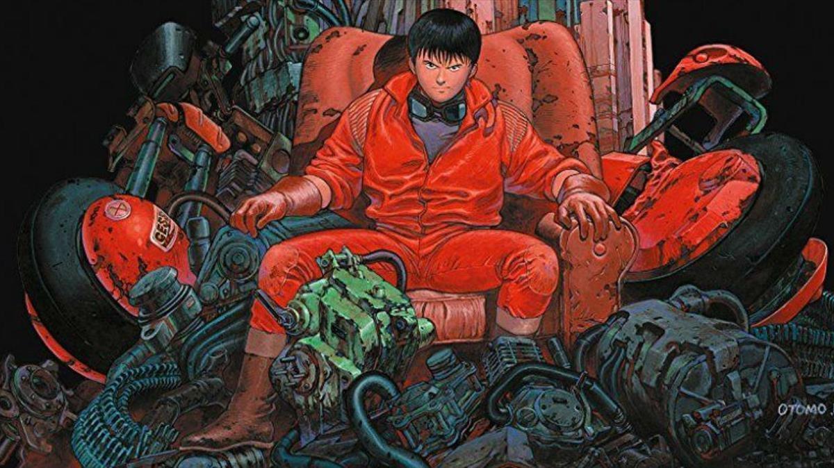 Tetsuo, en un fotograma de 'Akira'.