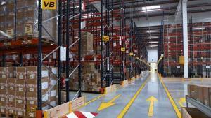 El nuevo centro logístico de Decathlon en Sant Esteve Sesrovires.