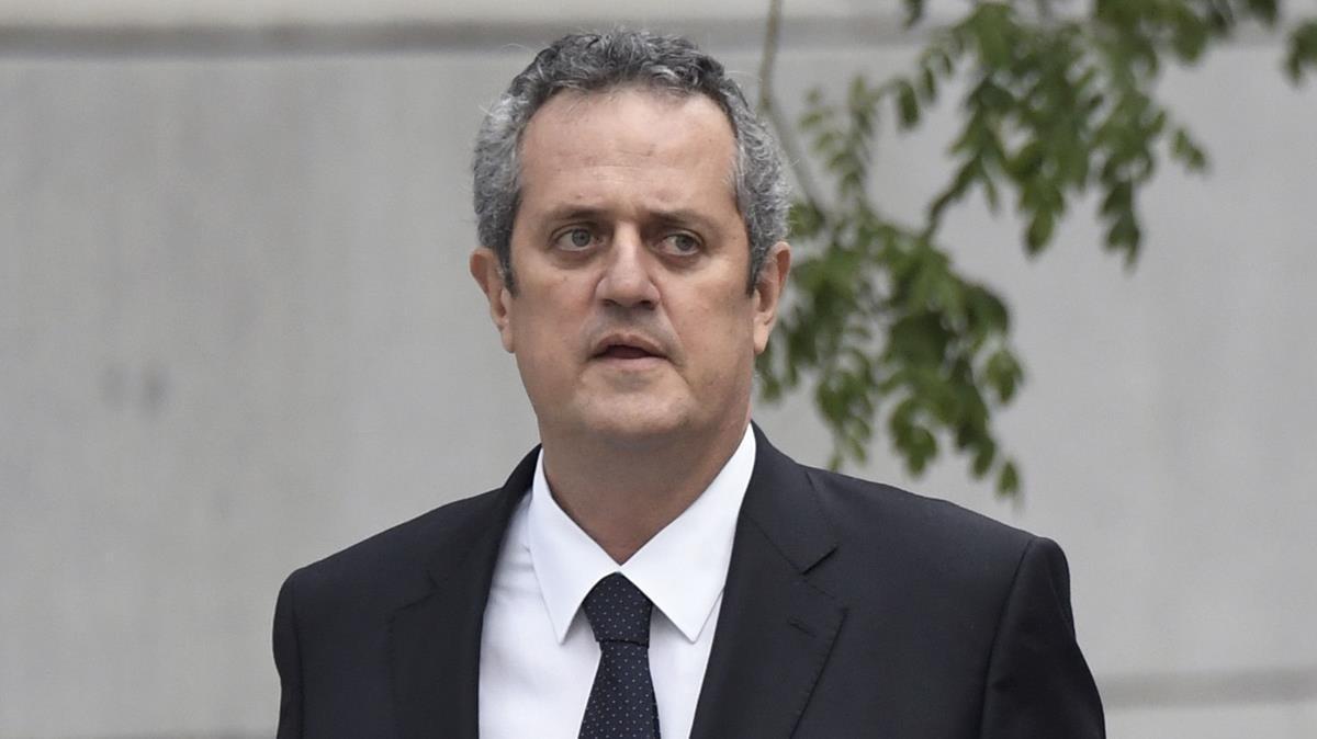 Joaquim Forn el pasado 2 de noviembre.