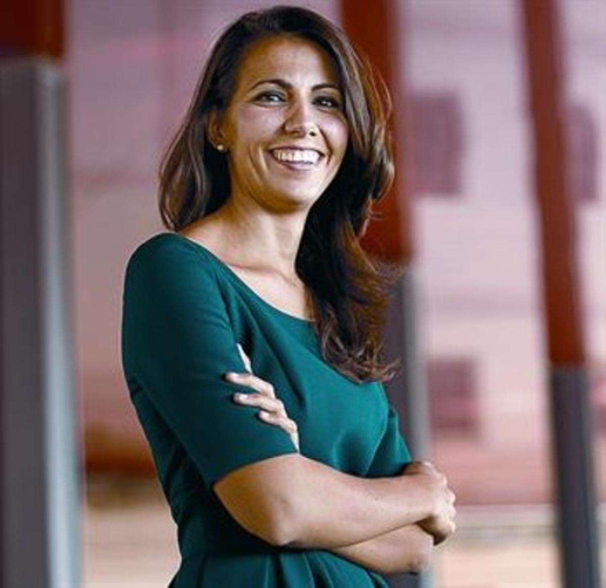 La periodista Ana Pastor.