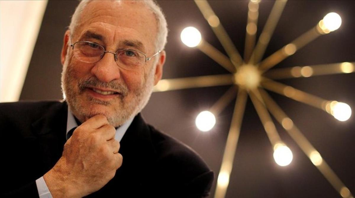 El economista Philip Stiglitz, en una visita a Madrid.
