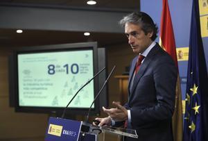 El ministro de Fomento, Íñigo de la Serna.