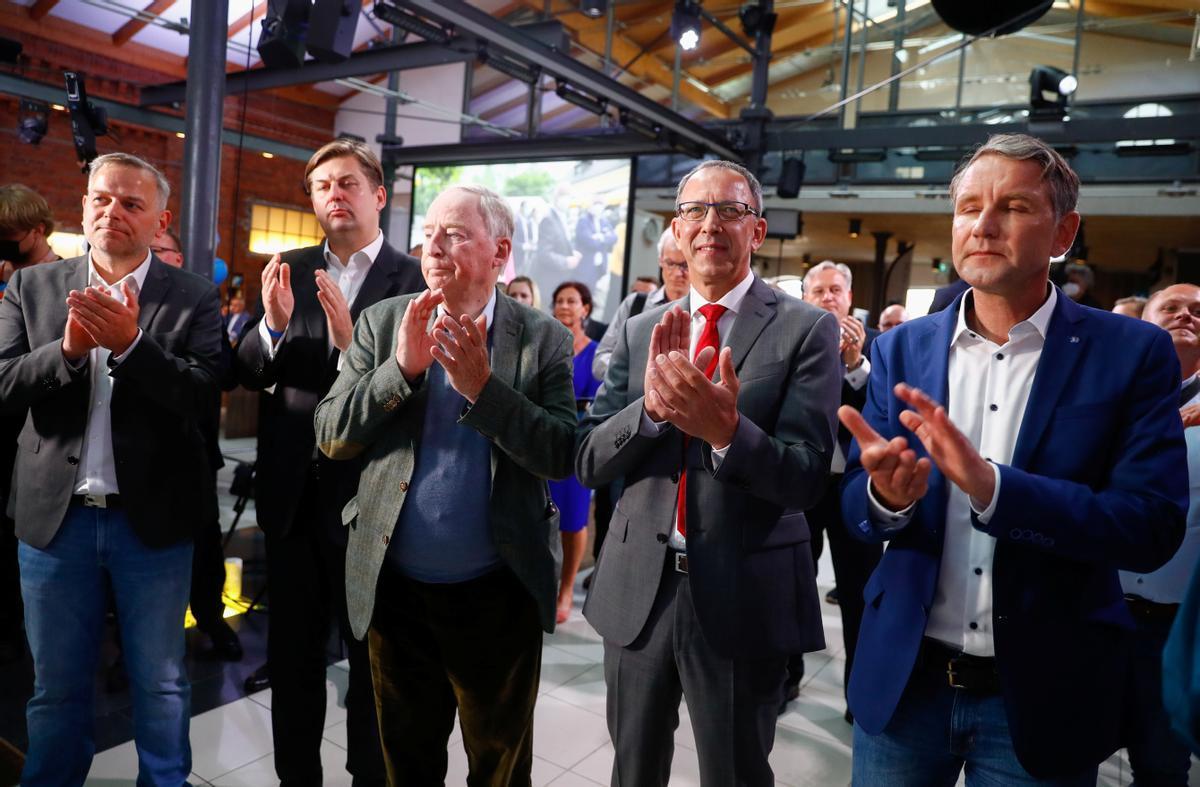 El poder electoral de la ultradreta a l'est d'Alemanya