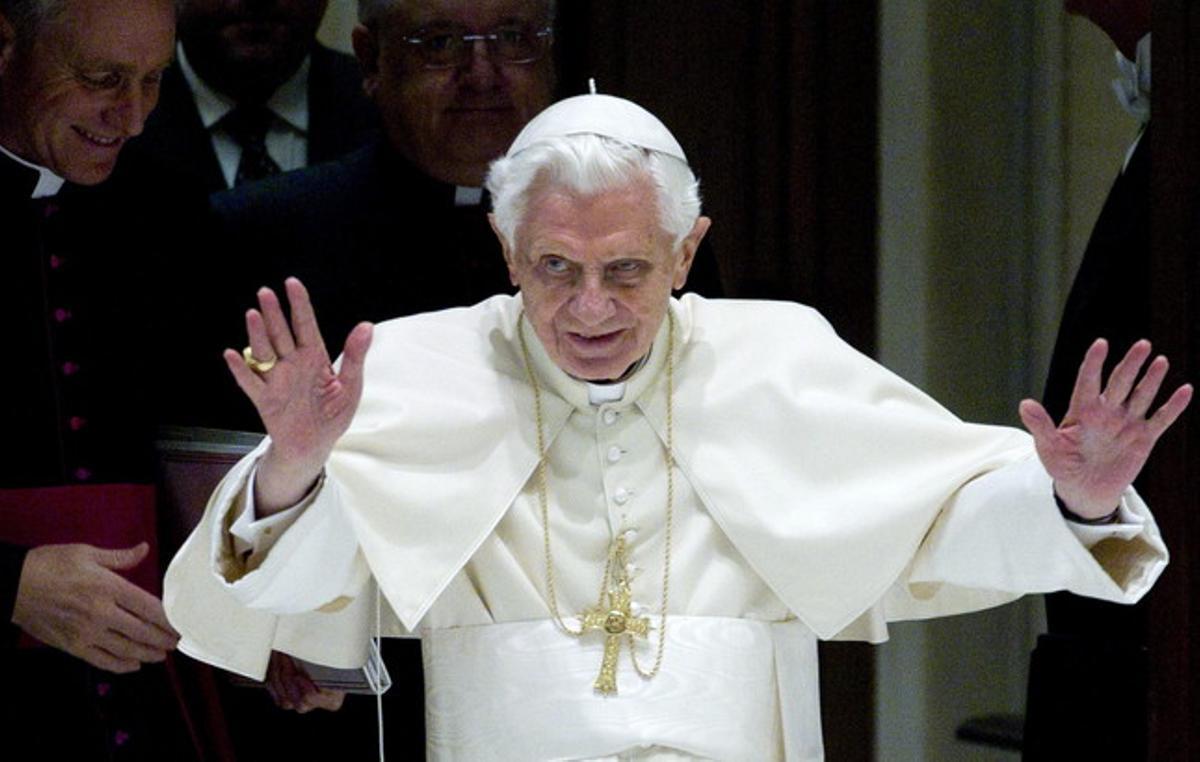 El Papa, en una audiencia pública, el pasado 28 de noviembre, en el Vaticano.