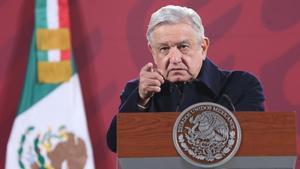 El presidente de México, Andrés Manuel López Obrador, en una imagen de archivo