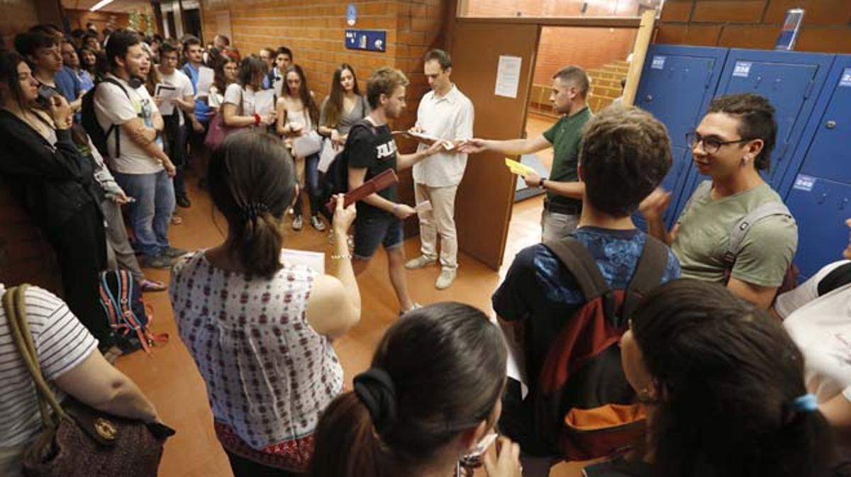 Facultad de biología de la Universitat de Barcelona.