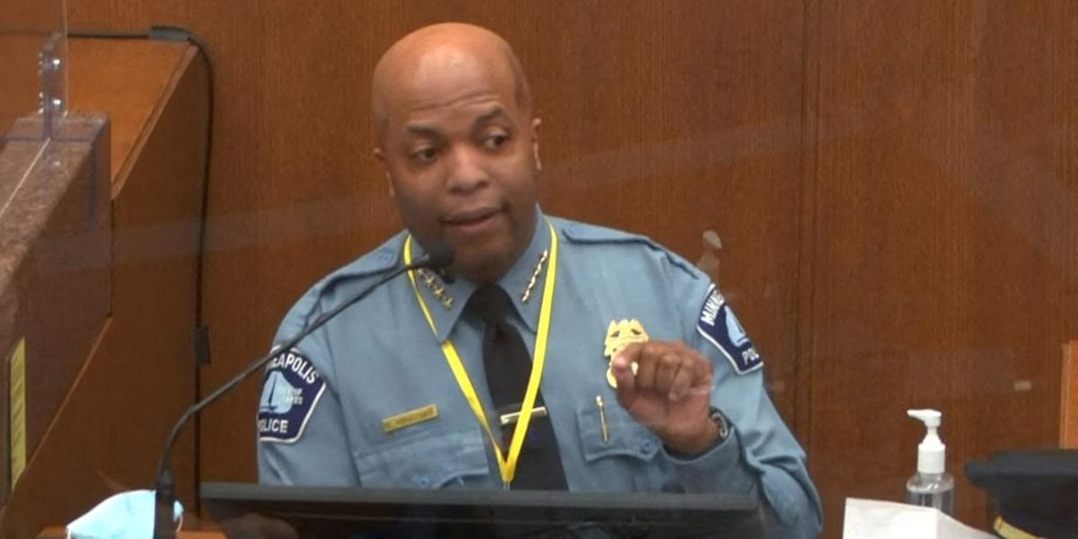 Policia contra policia en el judici per la mort de Floyd