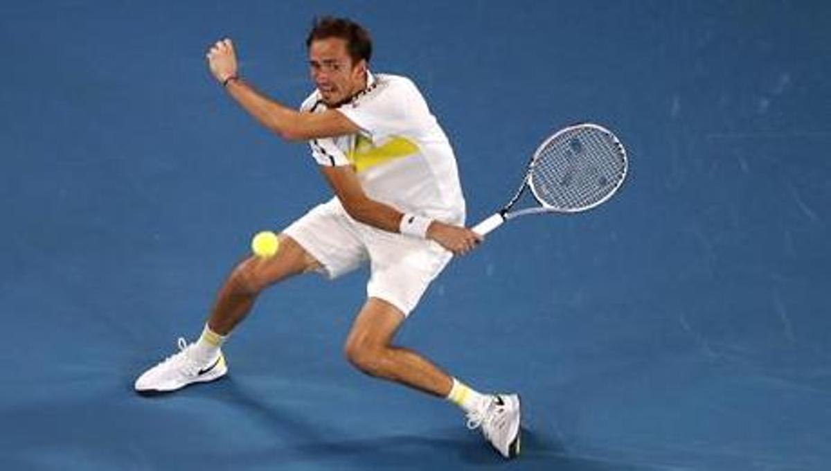 Medvedev, llançat a la final d'Austràlia