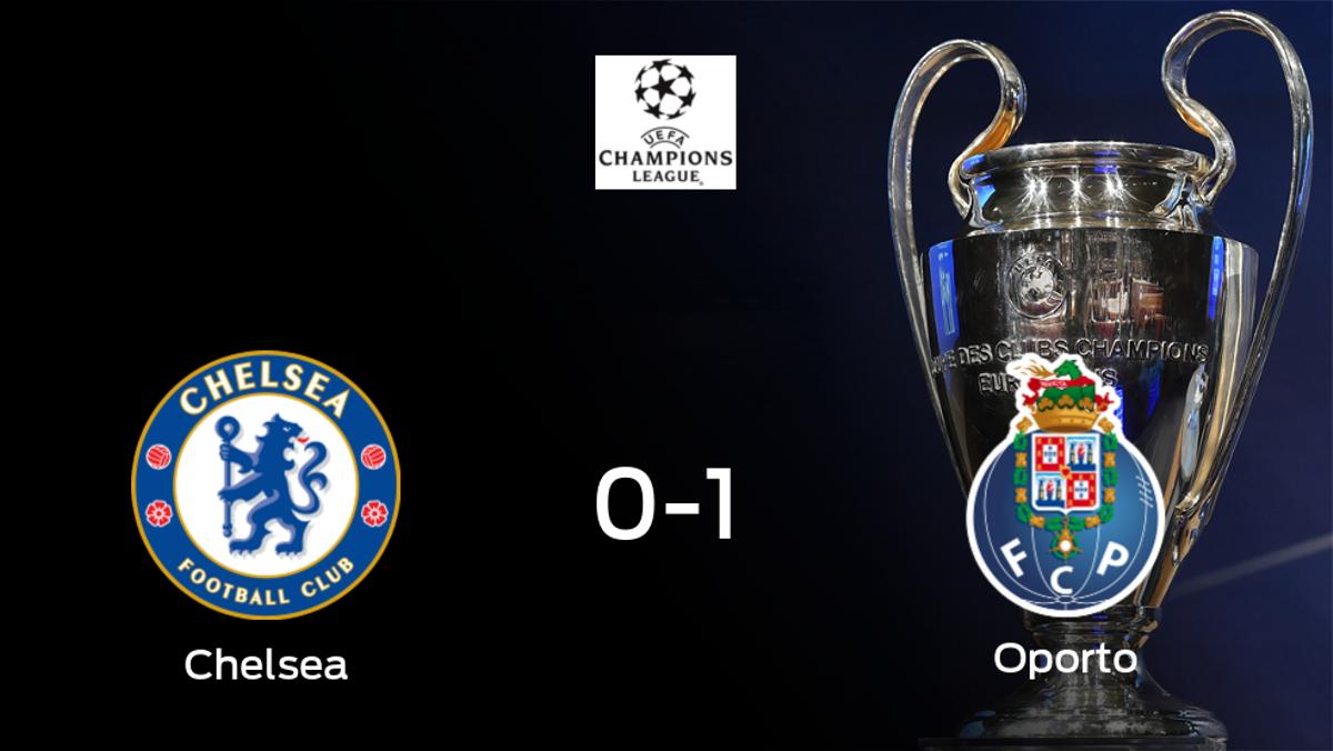El Chelsea se clasifica para semifinales a pesar de perder 0-1 contra el Oporto
