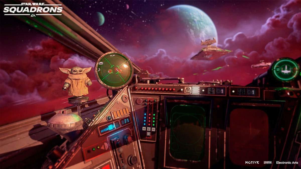 'Star Wars: Squadrons' s'actualitza amb contingut de 'The Mandalorian'