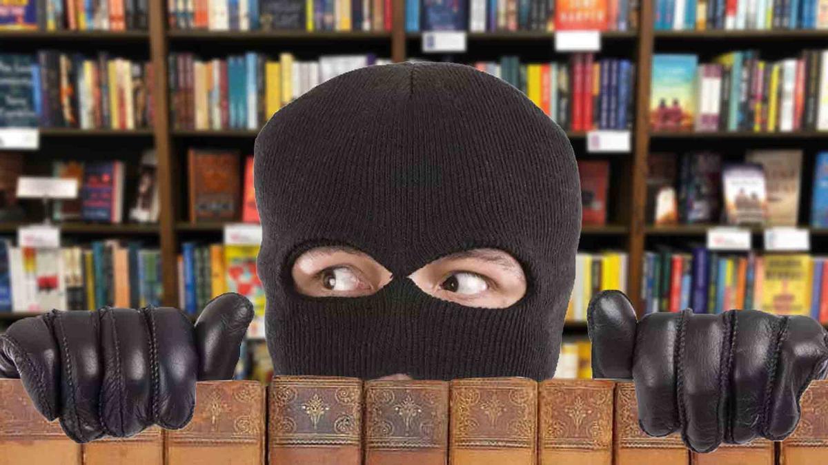 Así actuaba el ladrón de libros en serie de Barcelona