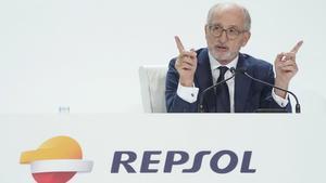 Repsol amortitzarà el 5% de la seva capital per premiar els seus accionistes