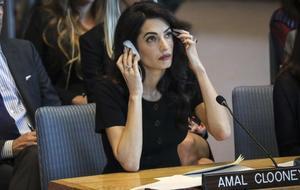 Mil euros per veure Amal Clooney
