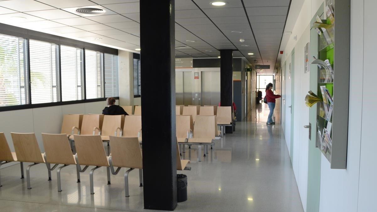 Un ambulatorio de Barcelona.