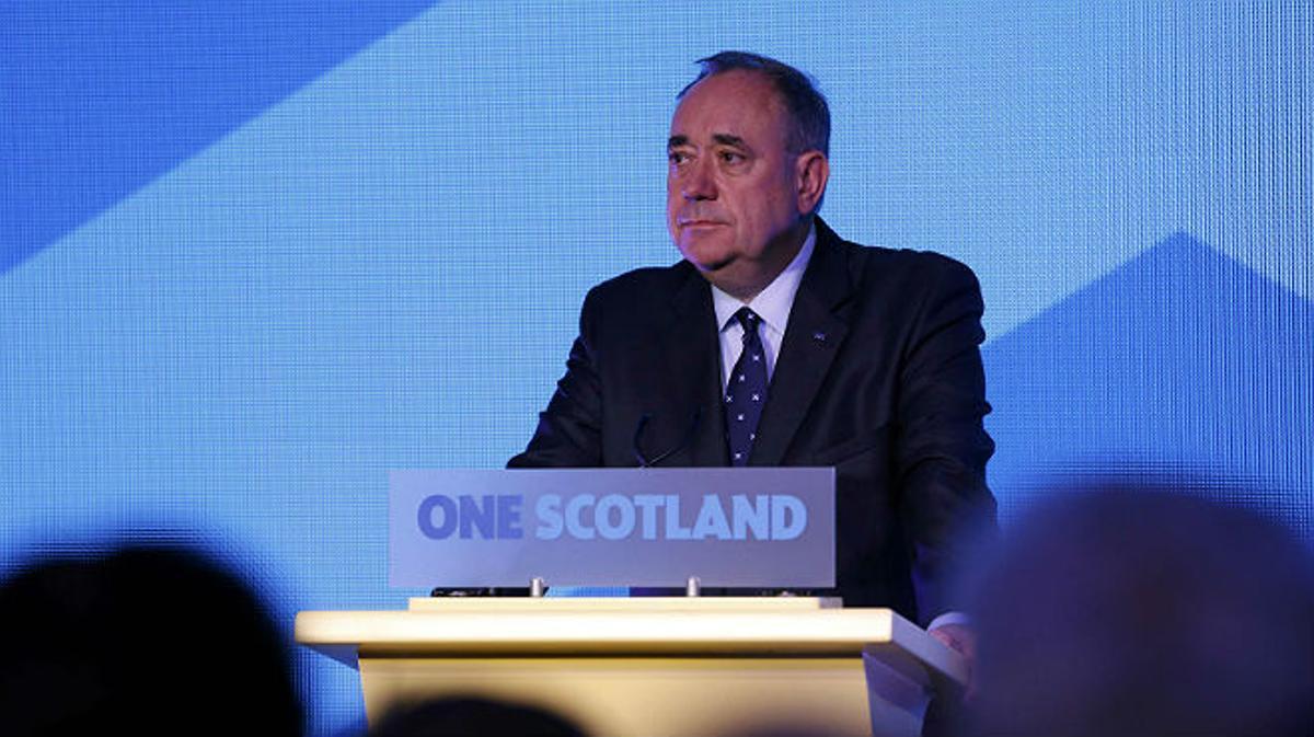 Alex Salmond comparece para valorar el resultado del referéndum de Escocia