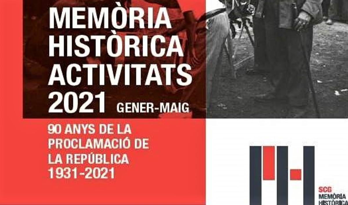 Santa Coloma commemora el 90 aniversari de la II República en la 8a edició del programa de memòria històrica