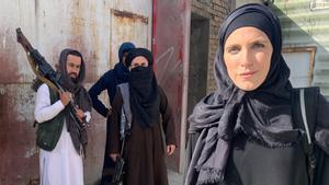 Clarissa Ward, corresponsal de CNN en Afganistán, en una fotografía colgada en sus redes