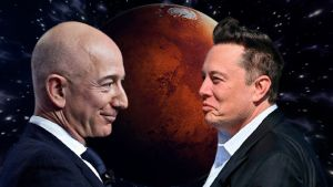 Bezos y Musk.