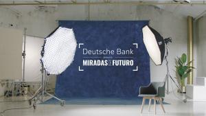 Imagen de la campaña 'Miradas de futuro' impulsada por Deutsche Bank.