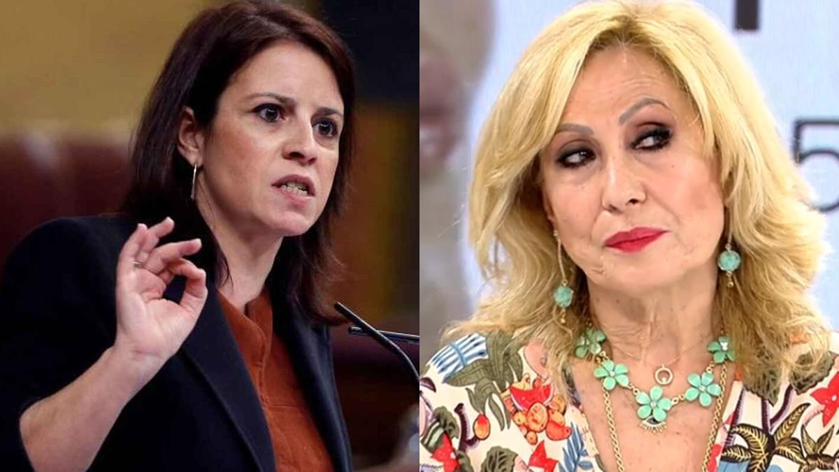 Adriana Lastra y Rosa Benito