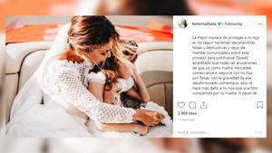 Elena Tablada critica a su 'ex' David Bisbalen las redes sociales.