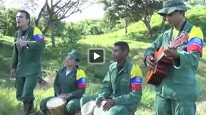 Las FARC difunden un desafiante rap en video sobre la paz en Colombia.
