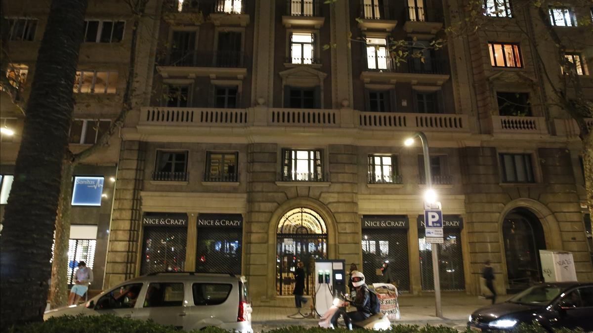 BARCELONA 16 12 2020 Edificio de Diagonal 445 futura tienda de IKEA  FOTO   ALVARO MONGE