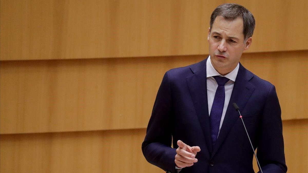 El nuevo primer ministro belga, Alexander De Croo.