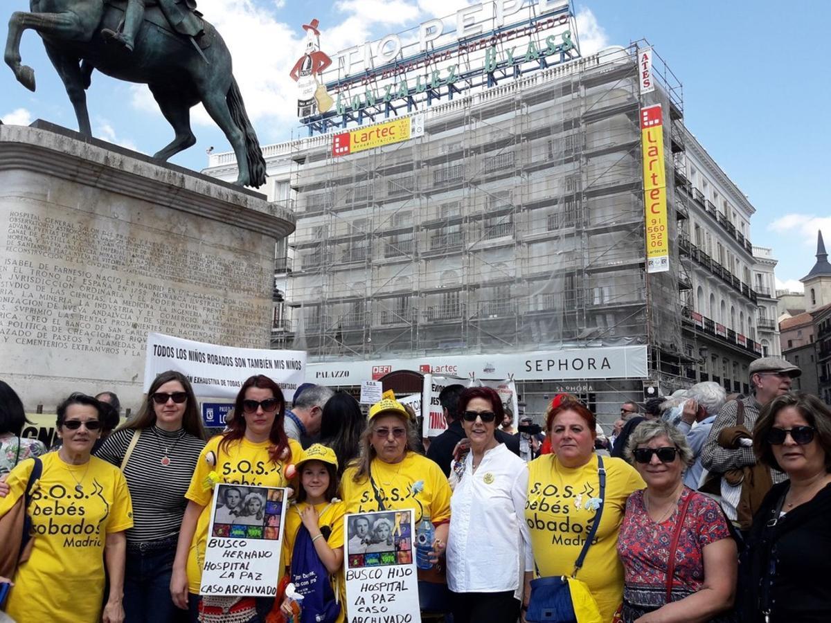 Trist Dia de la Mare a la Puerta del Sol
