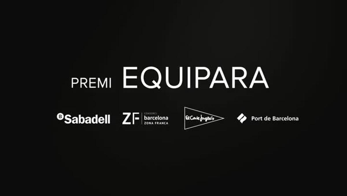 Blanca Sorigué ha sido galardonada con el premio Equipara.