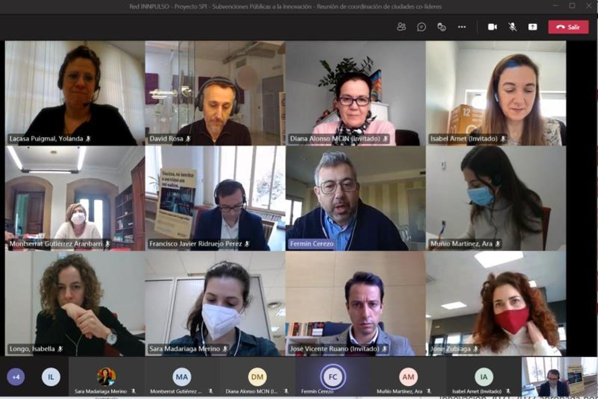 Reunión del grupo de trabajo 'INPULSO_SPI'