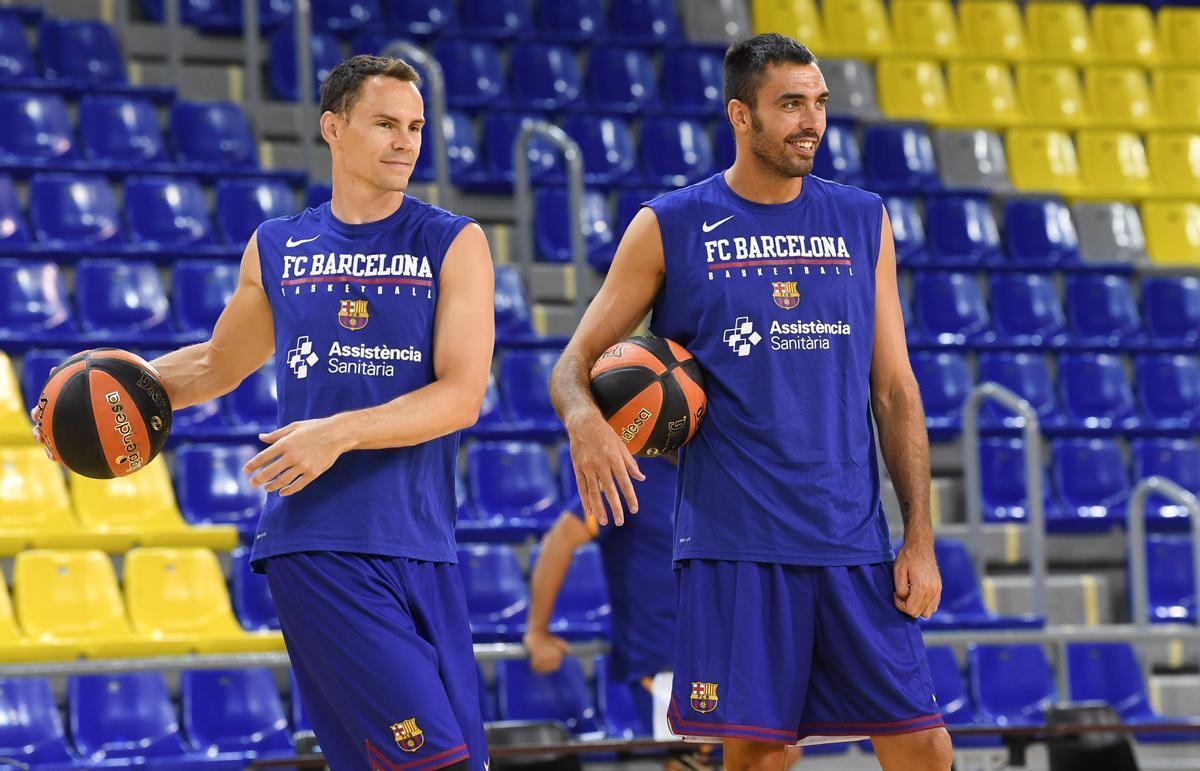 Kyle Kuric y el capitán Pierre Oriola, disponibles para el inicio de temporada.