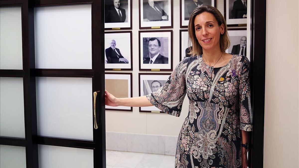 Àngels Chacón, la preferida del PDECat per enfrontar-se a Puigdemont