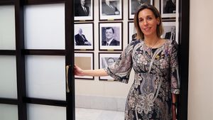 Àngles Chacón, 'consellera' de Empresa.
