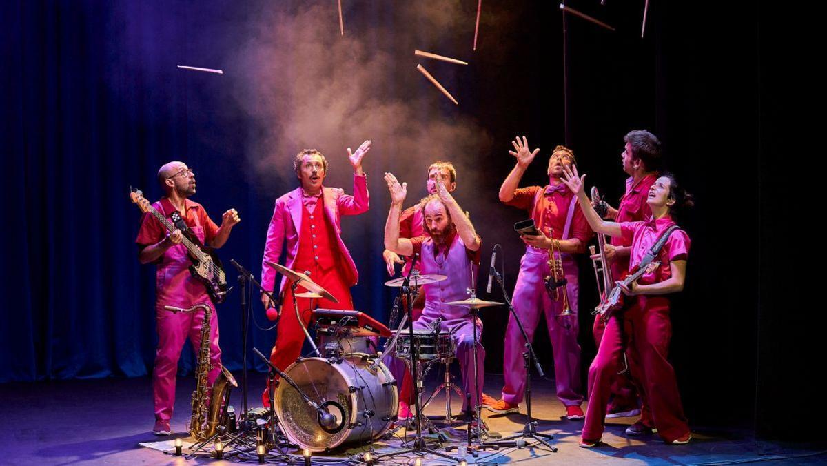 La música y el humor son los dos principales ingredientes del espectáculo.
