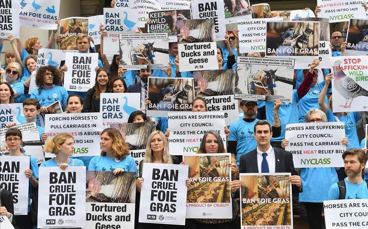 Nueva York prohibirá la venta de foie gras en el 2022