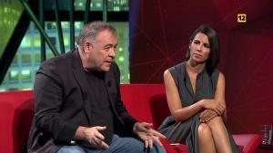 Antonio García Ferreras y Ana Pastor en 'laSexta noche'.